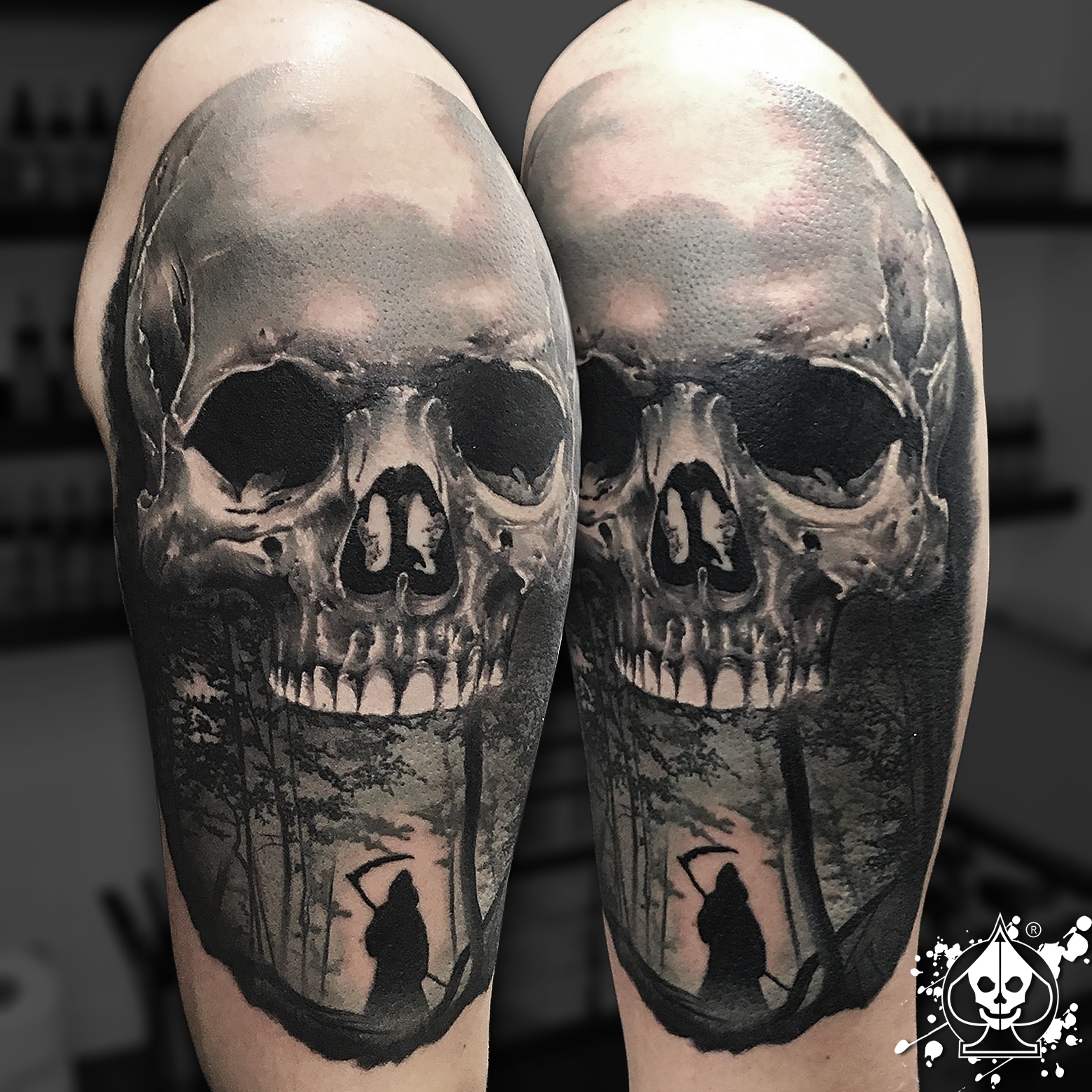 original tattoo skulls - photo #43