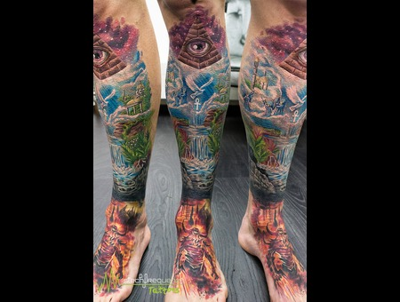 Color  Devil  Hell  Angel  Paradise  Eye  Pyramid  Heights  Downs  Space Color Lower Leg