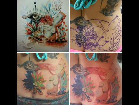 Freehand  Cover Up    Color Back