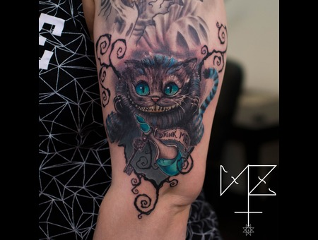 Cheshire Cat Color Arm