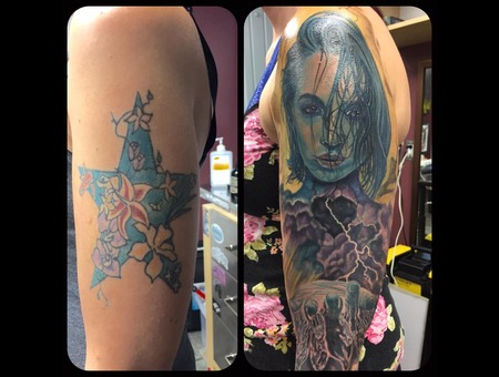 Coverup Color Arm