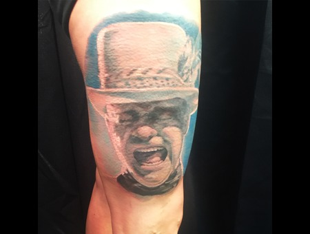 Colour  Portrait  Realism  Rock And Roll  The Tragically Hip Color Thigh