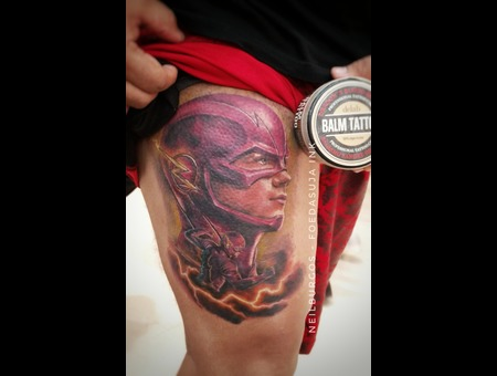 The Flash  Flash  Neilburgos  Foedasuja  Zoom  Lightning  Dc  Dc Comics   Color Thigh