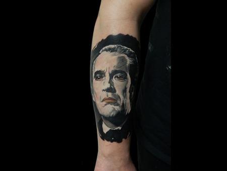 Dracula Black Grey Lower Leg