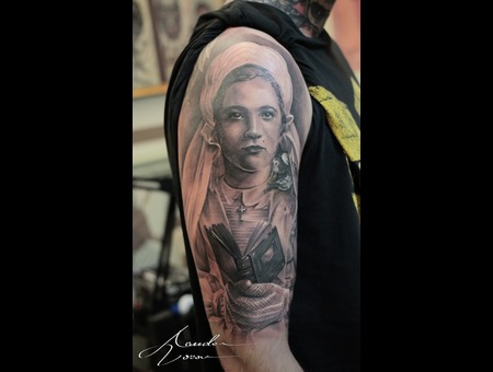 Portrait  Wedding  Family  Grandmother  Oldphoto Black Grey Shoulder