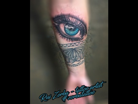 Eye Color Forearm