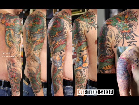 Tattoo Sleeve Color Ink  Color Arm