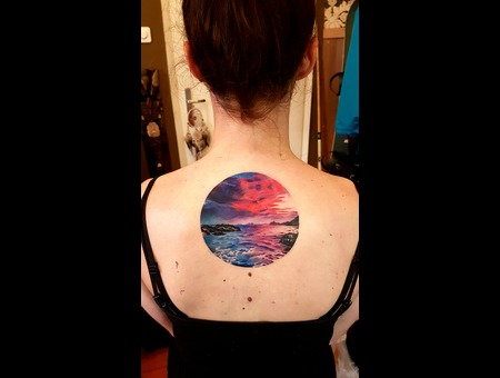 Sea Tattoo  Color Back