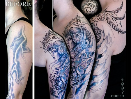 Cover Up (In Progress) By Dimon Taturin Color Arm