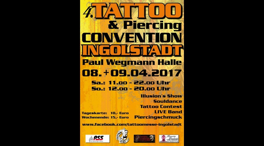 2017 tattoo messe ingolstadt