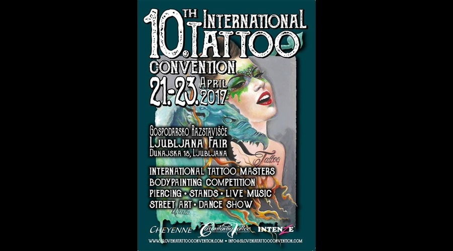 2017 10th slovenia tattoo convention