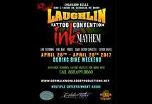 Ink Mayhem Laughlin Tattoo Convention