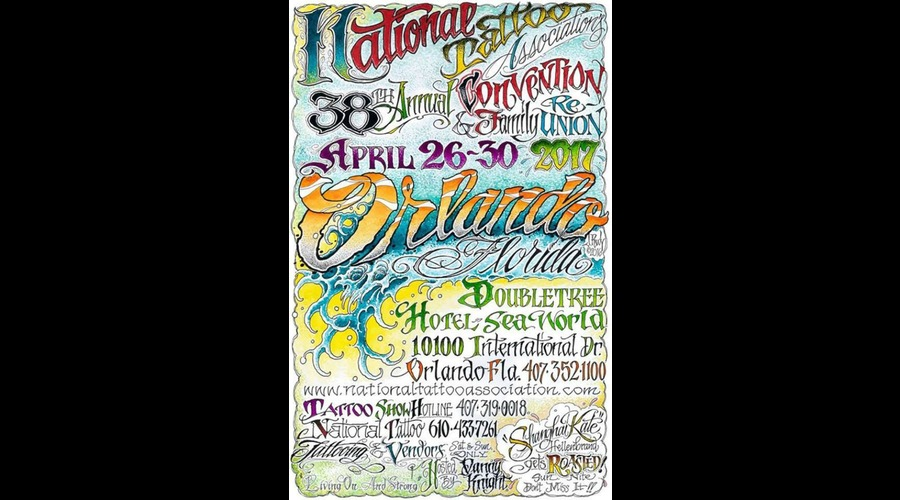 2017 38th national tattoo association convention