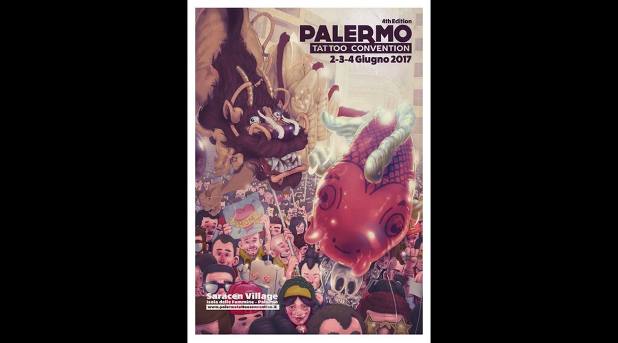 2017 palermo tattoo convention