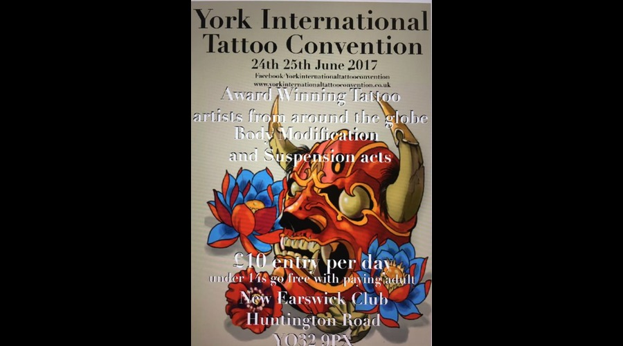2017 york international tattoo convention