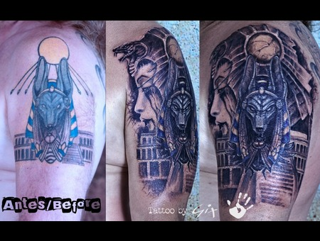 Cover Up  Egypt  Hatshepsut  Giuliano  Manufactum  Tenerife  Color Arm