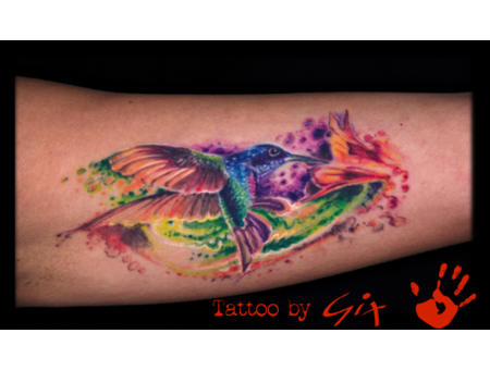 Hummingbird  Color  Splash  Giuliano  Manufactum  Tenerife Color Arm