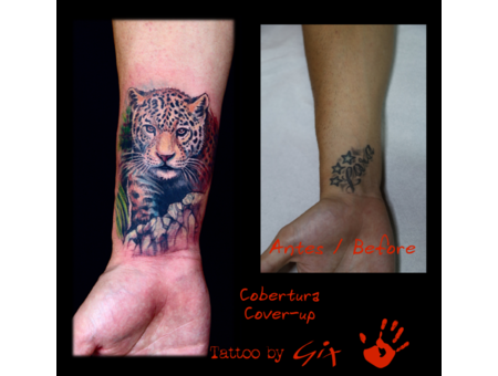 Cover Up  Guepard  Giuliano  Manufactum  Tenerife Color Forearm