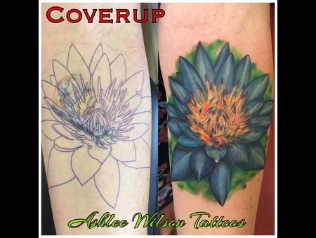 Lotus Flower  Flower Tattoos  Realism Tattoos Color Forearm