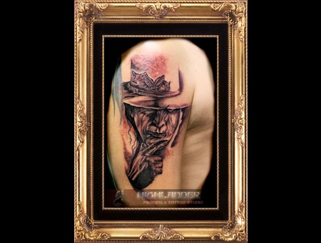 Highlander Tattoo (Hellrayser)Waiblingen Black Grey