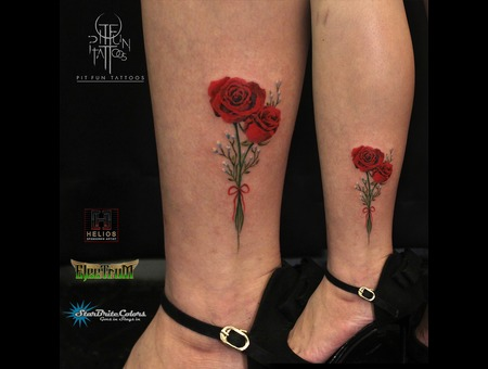 Rose   Minimalist Color Lower Leg