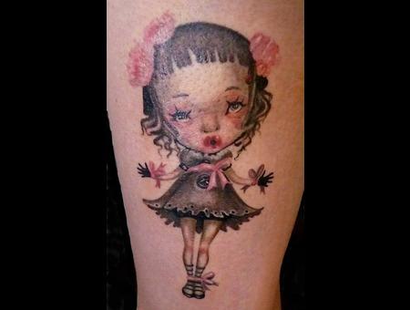 Das Mim  Graphic  Tattoos  Mim Color