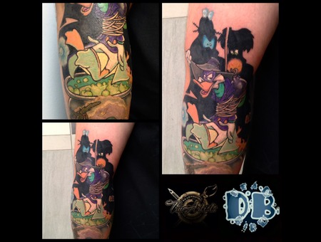 Cartoon  Comic Color Forearm