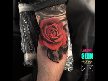 Rose Color Arm