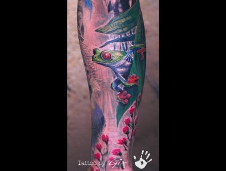 Frog  Realistic  Giuliano  Tenerife  Manufactum Color Forearm