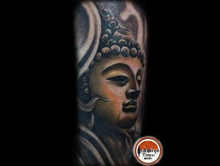 Buddha  Golden  Color Lower Leg