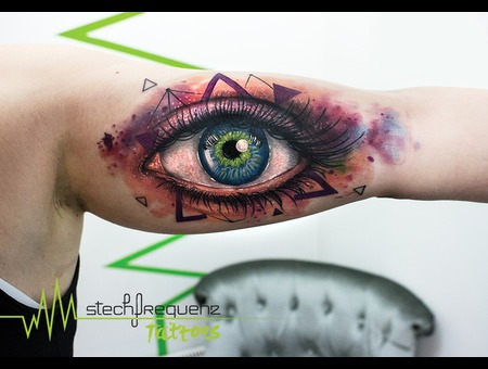 Eye  Abstract  Watercolor Color Arm
