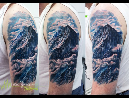 Mountian  Realistic  Clouds Color Arm