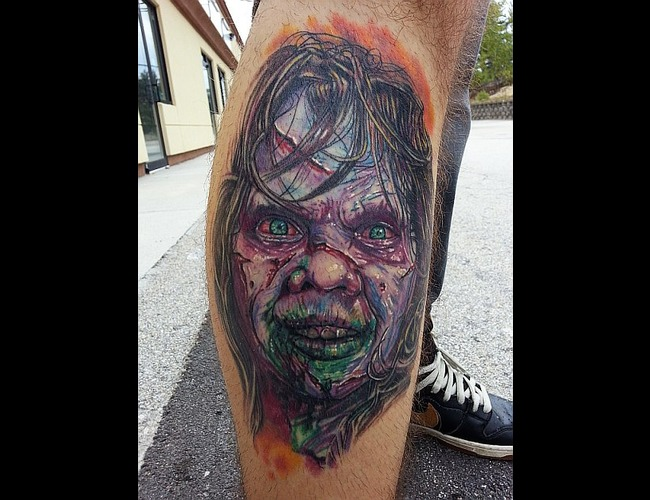 Exorcist  Reagan  Evil  Healed Color