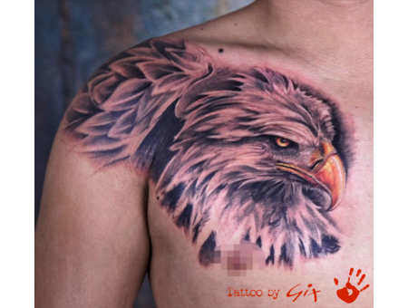 Eagle  Realistic  Chest  Giuliano  Manufactum  Tenerife Black Grey Chest
