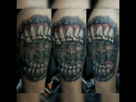 #Tattoo #Dövme #Ink #Art #Artwork Color Lower Leg