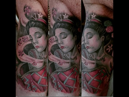 #Tattoo #Dövme #Ink #Art #Artwork Color Arm