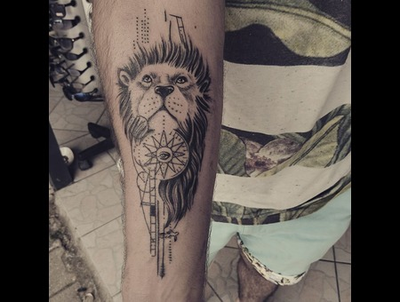 #Tattoo #Dövme #Ink #Art #Artwork Black Grey Forearm