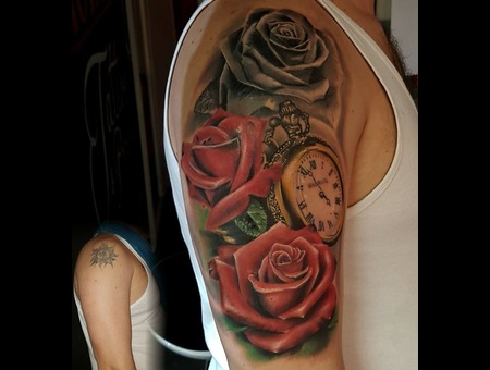 Rose Watch Color Arm