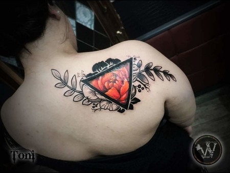 Cover Up Tattoo Color Back