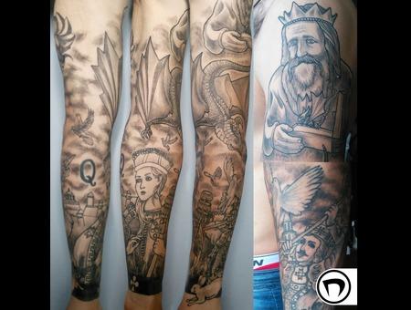 Black Grey Arm