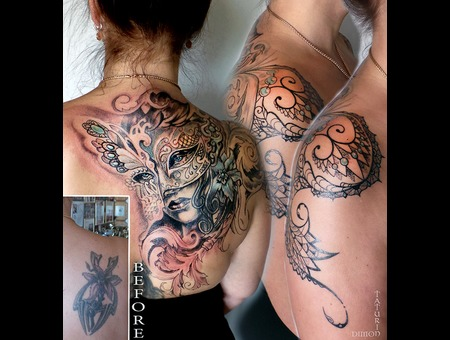 Cover Up By Dimon Taturin Color Back