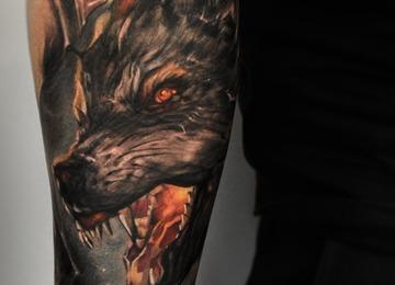 Vainius anomaly, horror, creepy, dark, evil, tattoo