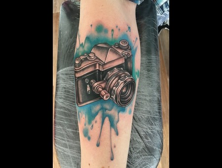 Camera  Watercolour Color Forearm