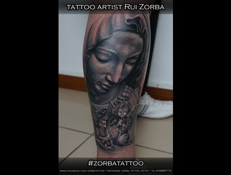 Pieta Querub Agels Star 12hours 2sessions Black Grey Lower Leg