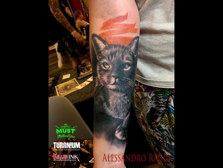 Animal  Portrait Color Forearm