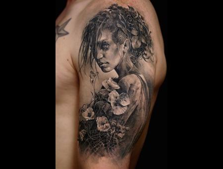 Realism  B&G Black Grey Arm