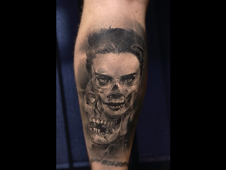 Realism  B&G Black Grey Lower Leg