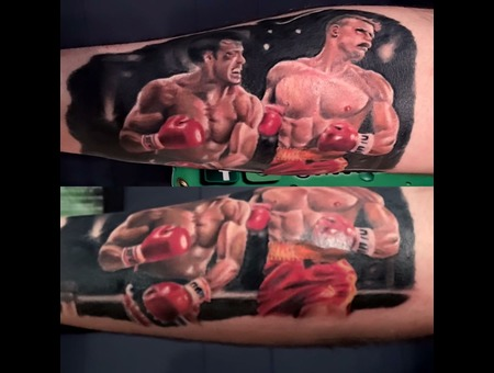 Rocky  Color Forearm
