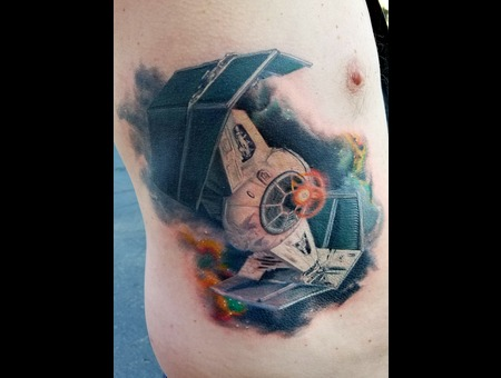 Star Wars  Star Fighter  Galaxy Color Ribs