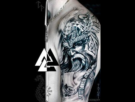 Dimon Taturin Black Grey Arm